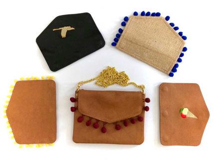 Handtaschen modular auswechselbar custom
