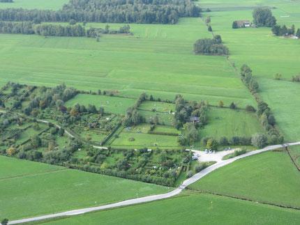 Unser Ausbildungsgelände am Schwarzgrabenweg aus der Luft gesehen!