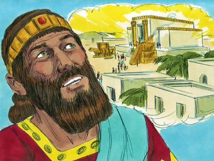 Le Temple de Jérusalem symbolise la théocratie, la présence officielle et le pouvoir de Dieu en Israël. Les 70 années de colère divine touchent à leur fin, il est temps de rebâtir le Temple de Jéhovah, symbole de la présence de Dieu au sein de son peuple.