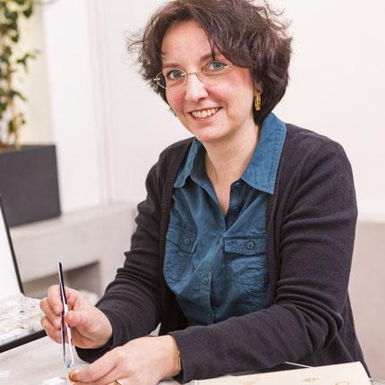 Melanie Karner Goldschmiedemeisterin im zierwerk Hamburg