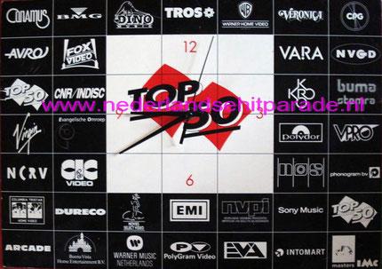 Mega top 50 klok