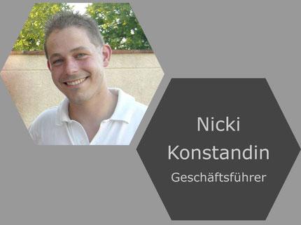 Bild vom Geschäftsführer Nicki Konstandin