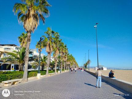 Paseo Maritimo de Valencia