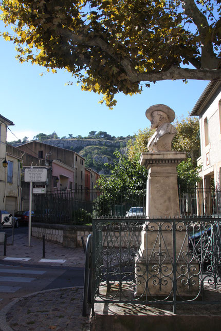 Bild: Denkmal Fréderic Mistral, Cavaillon