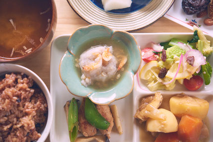 しらさぎご飯:食事の写真(一例)