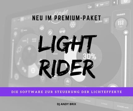 Lichtshow Lightrider DJ