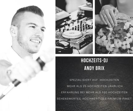 DJ Andy Brix Hoczeits-DJ Hochzeit