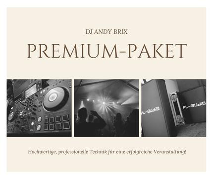 Premium Paket DJ Andy Brix