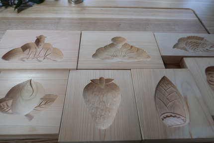 「おこしもの」の木型