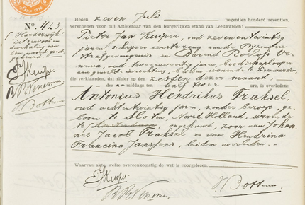 Overlijdensregister 1917,Bijzondere Strafgevangenis van Leeuwarden