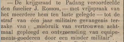 Het nieuws van den dag voor Nederlandsch-Indië 24-06-1909