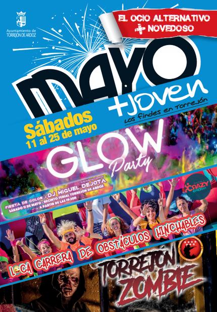 Mayo Joven Fiestas en Torrejon de Ardoz