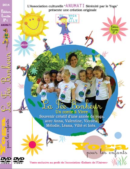 DVD de Yoga pour les enfants