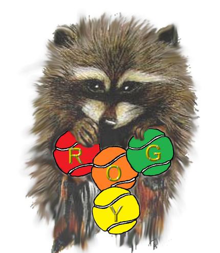 Das Maskottchen für unsere ROG-Tennisjugend -> ROGY