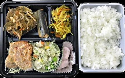 しっかり食べて内臓脂肪をためにくい食べ方が身につく、食べる教材、「スマート和食弁当」