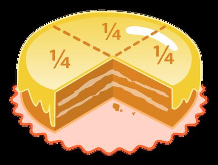 Clicca sulla torta