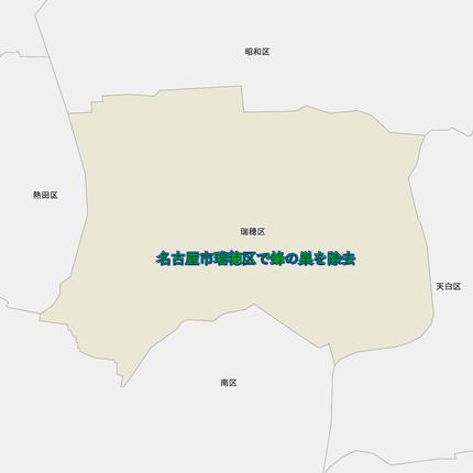 瑞穂区の地図