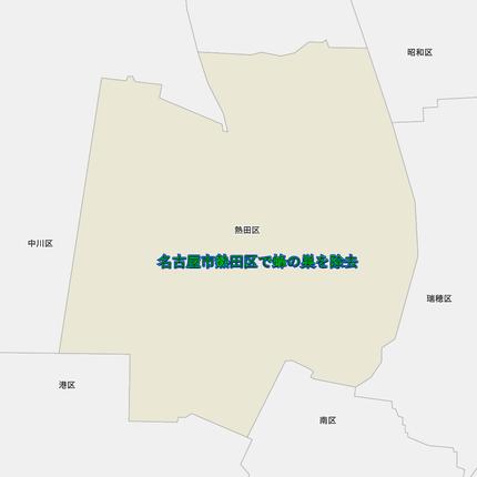 熱田区の地図