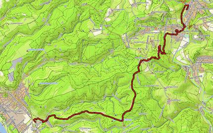 GPXTrack 16. Etappe WW-Steig