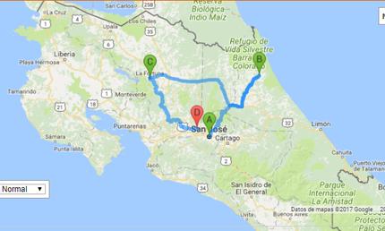 Costa Rica Itinerary San José, Tortuguero, Arenal Volcano
