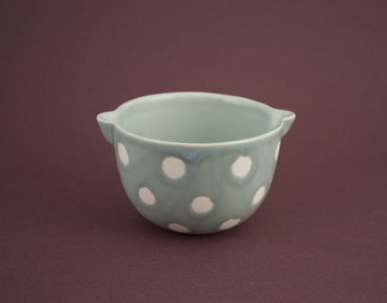 Small polka dot bowl
