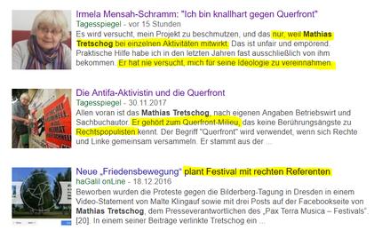 """Der Tagesspiegel und sein Verhältnis zum Grundgesetz Art.5 """"Presse- und Meinungsfreiheit"""" bzw. """"Die Würde des Menschen ist unantastbar!"""