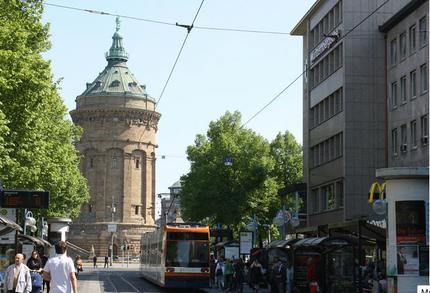 A street in Mannheim