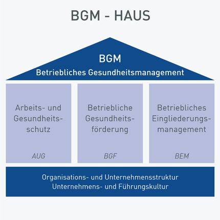 Betriebliches Gesundheitsmanagement – Das BGM-Haus