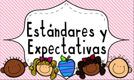 Est ndares y expectativas educando con amor y vocaci n for Estandares para preescolar