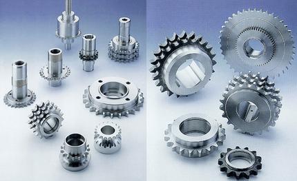 Pignons et roues pour chaînes à rouleaux