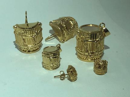 Bijoux antillais | Boucle d'oreille créole