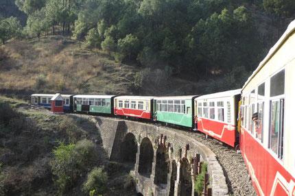 Die Kalka-Shimla-Bahn