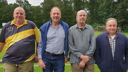 Das Spitzenteam der VG 81, die Tölzer Erste belegte den 7. Platz in der Oberliga