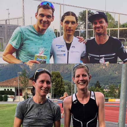 Michele Paonne und Nicole Klingler sind die besten Duathleten im Land