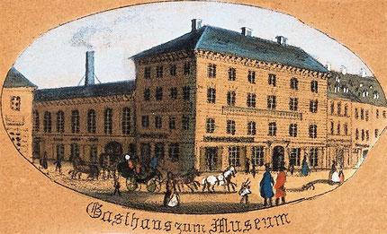 Gasthaus und Hotel Museum 1850