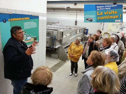 Visite de la station d'épuration de Port-Neuf (LR)