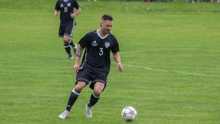Andreas Lang belohnte sich für eine starke Leistung mit dem Treffer zum 1:0