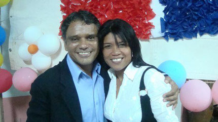 Jose Luis y Eva de Marchan
