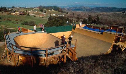 Tony HawksPrivat-Skaterampe, 1991