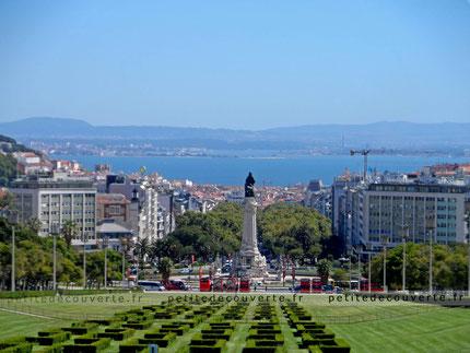 Parque Eduardo VII -  Parc Eduardo VII à Lisbonne