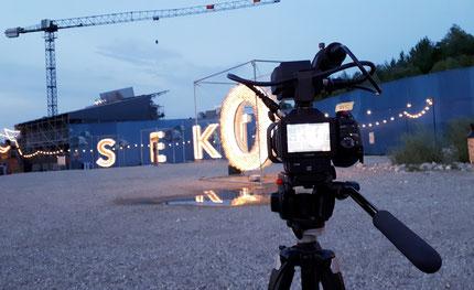 Unterwegs mit der Kamera auf dem Sektor1-Gelände in Olten