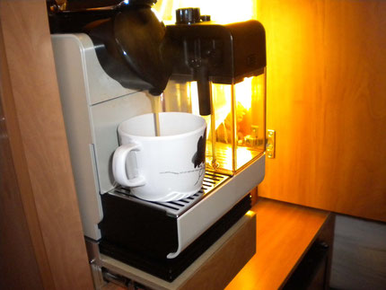 Unser Kaffeeautomat