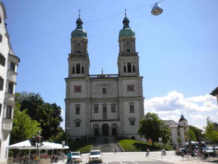 Die St. Lorenz Basilika in Kempten