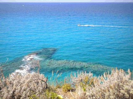 """Blick von der Kirche """"Santa Maria dell'Isola"""""""