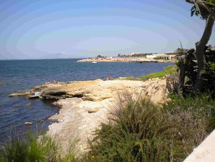 Küstenabschnitt bei Marsala