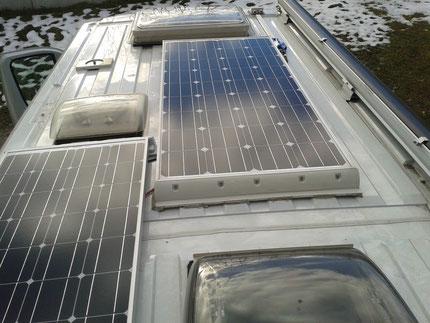 PV-Panele am Dach