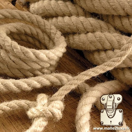 corde naturelle pour fabrication de poignée ancienne