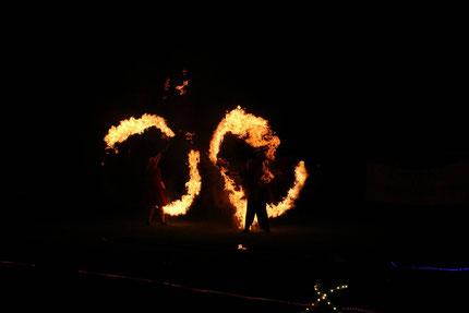 Feuer, Lycopodium, Fackel, Feuershow, Gala, FS-Convention, FS-Con, 2017