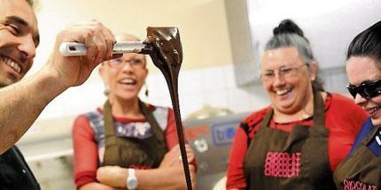 Un atelier chocolat chez le chocolatier Patrice Gonzalez pour se régaler à la maison