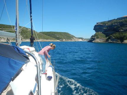 Reisebericht und Blog Mitsegeln Kosrsika und Bonifacio